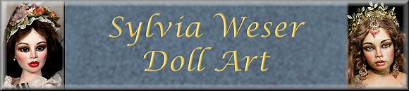 Gästebuch Banner - verlinkt mit http://www.sylvia-weser-doll-art.com